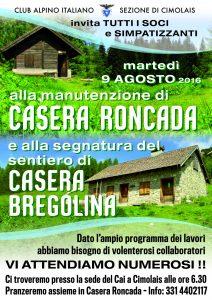 CAI CIMOLAIS - Casera Roncada 2016