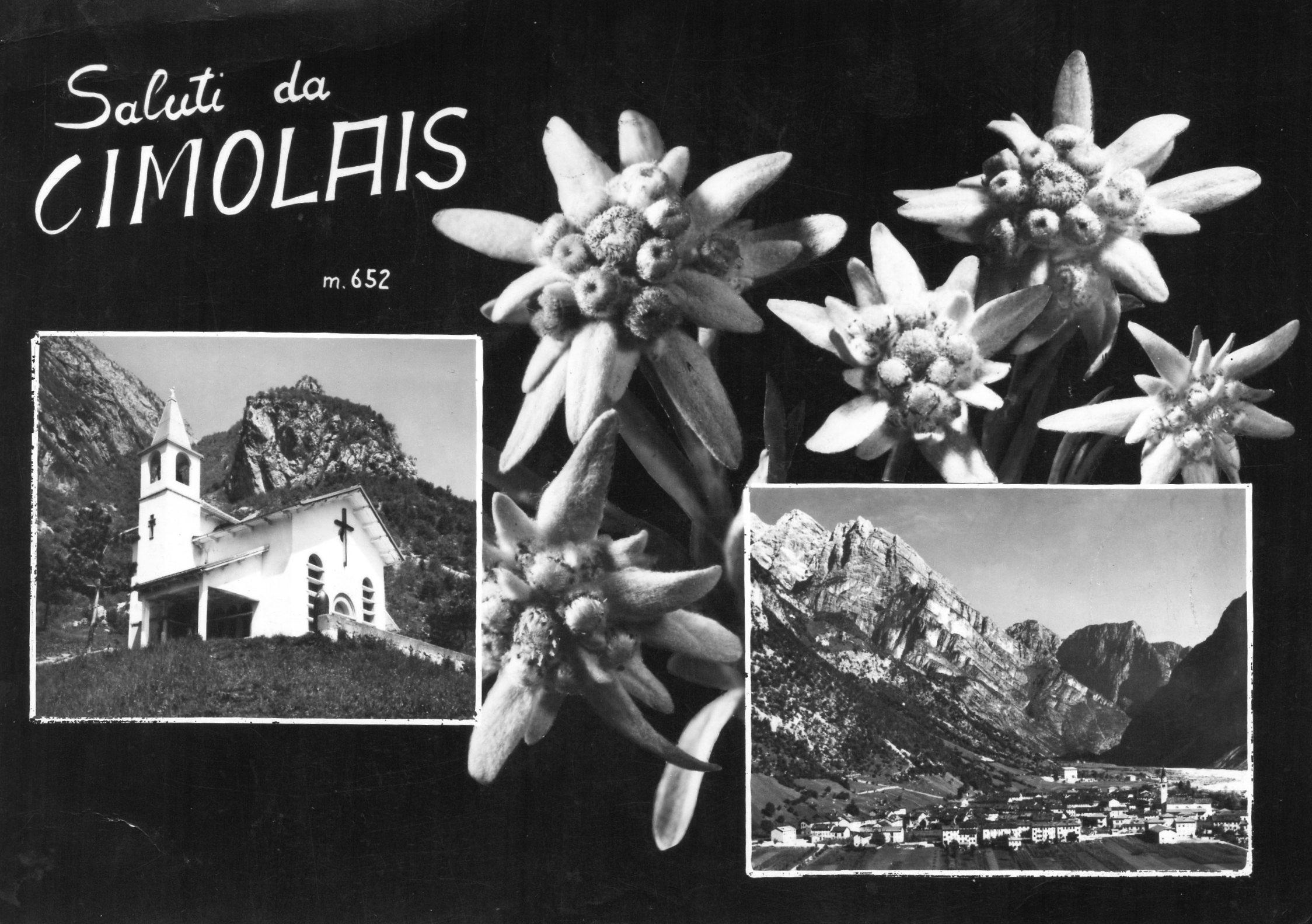 Cartolina Cimolais anni 70